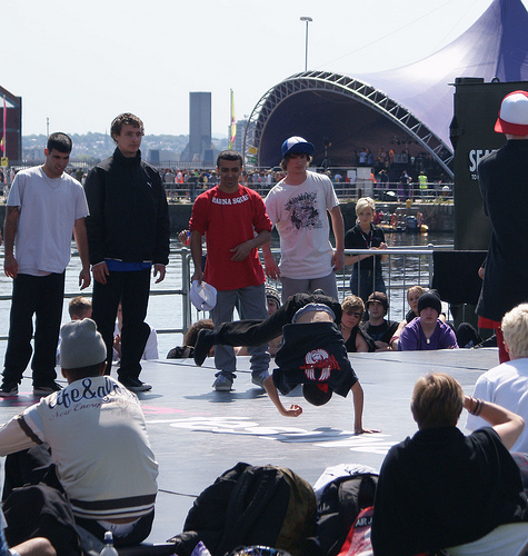 bboys at hub 09