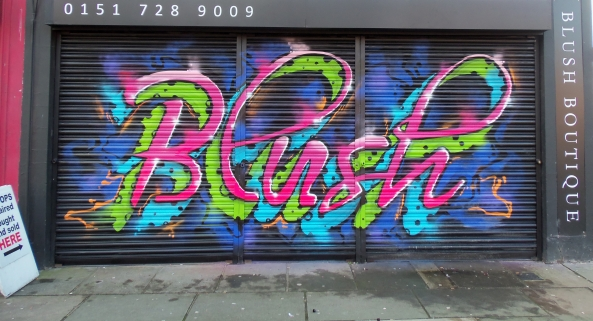 blush liverpool shutter zap graffiti arts