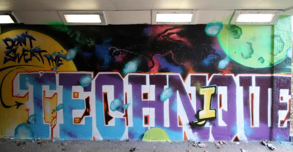 zap graffiti art workshop mural skelmersdale lathom high school uthink