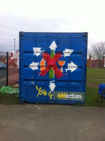 graffiti workshop liverpool zap anfield young addaction