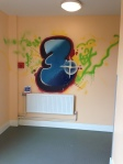 ymca birkenhead zap graffiti art workshop mural hallway