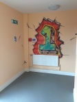 ymca birkenhead zap graffiti art workshop floor numbers