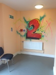 ymca birkenhead zap graffiti arts workshop mural floor numbers